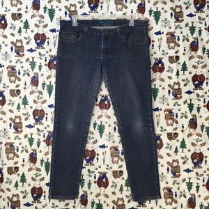 Women's super skinny jeans anchor blue size 15S
